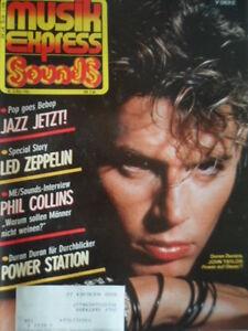 MUSIKEXPRESS-5-1985-2-J-Taylor-Duran-Duran-Led-Zeppelin-Phil-Collins-Madonna