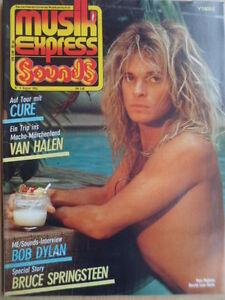 MUSIKEXPRESS-8-1984-Lee-Roth-The-Cure-Bruce-Springsteen-Bob-Dylan-Alan-Vega