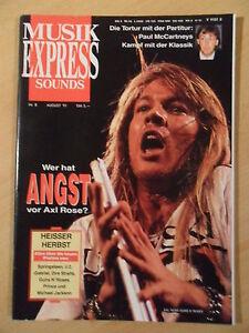 MUSIKEXPRESS-8-1991-2-Axl-Rose-Paul-McCartney-James-Brown-Brings-Tom-Petty