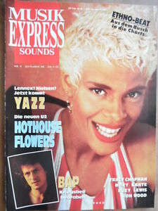 MUSIKEXPRESS-9-1988-5-YAZZ-Hothouse-Flowers-BAP-Huey-Lewis-Ron-Wood-Mory-Kante