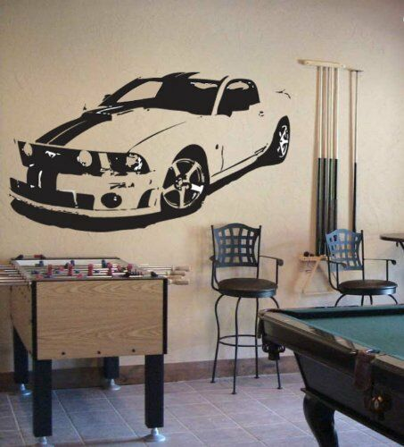 MUSTANG GT COBRA SHELBY Wall Decor Vinyl Decal Sticker in Home & Garden, Home Decor, Decals, Stickers & Vinyl Art | eBay