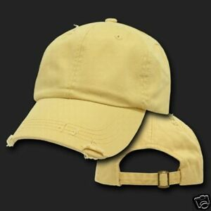 mustard yellow vintage style polo baseball cap hat caps ebay