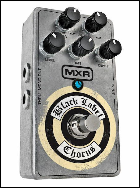 MXR ZW38 ZW 38 Black Label Chorus Guitar Pedal Zakk Wylde New