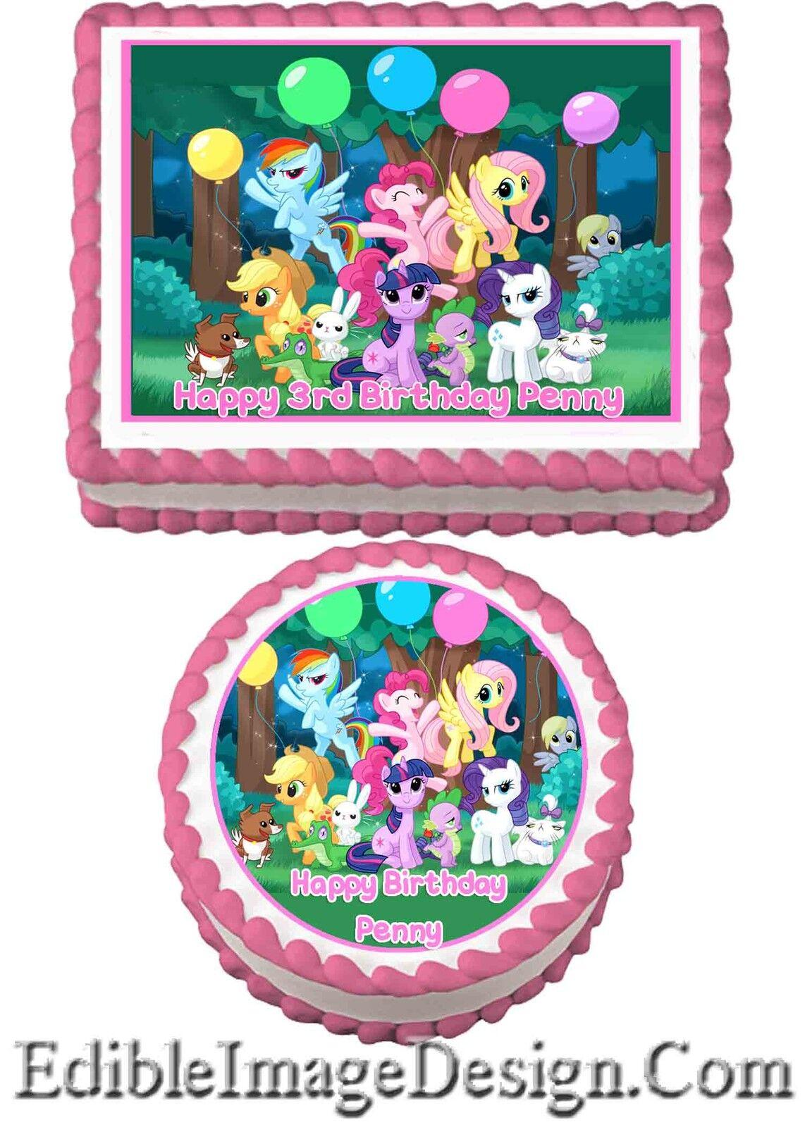 my little pony birthday cake ideas cakes