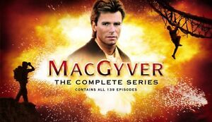 MacGyver - The Complete Series (DVD, 200...