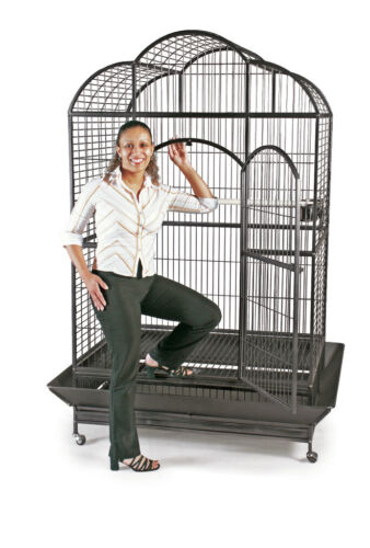 Macaw Cage - Prevue 3155S Silverado Dometop Cage with 3 Stainless Steel Bowls in Pet Supplies, Bird Supplies, Cages | eBay