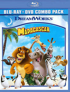 Madagascar (Blu-ray/DVD, 2010, 2-Disc Se...