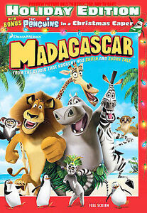 Madagascar (DVD, 2008, Holiday O-Sleeve;...