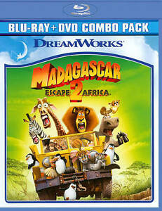 Madagascar: Escape 2 Africa (Blu-ray/DVD...