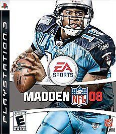 Madden NFL 08 (Sony PlayStation 3, 2007)
