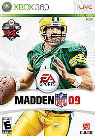 Madden NFL 09 (Microsoft Xbox 360, 2008)