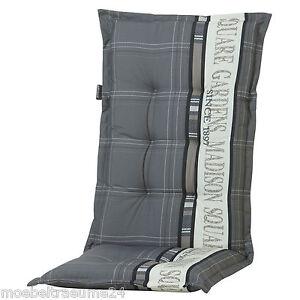madison garden grey auflagen f r hochlehner sessel. Black Bedroom Furniture Sets. Home Design Ideas