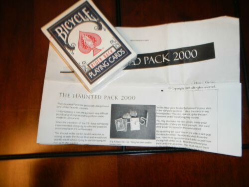 Magic Card Trick - Haunted Pack 2000 with Card Deck and Instructions in Collectibles, Fantasy, Mythical & Magic, Magic | eBay