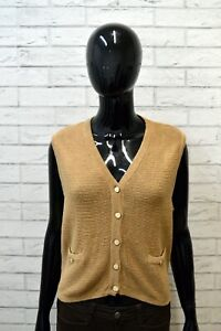 Maglione-TIMBERLAND-Taglia-S-Pullover-Smanicato-Lana-Felpa-Sweater-Woman-Donna