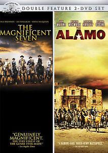The Magnificent Seven/The Alamo (DVD, 20...