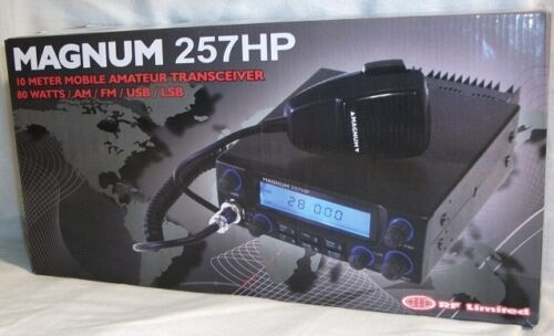 Magnum 257HP Mobile 10 Meter Radio/Transceiver NEW!! in Consumer Electronics, Radio Communication, Ham, Amateur Radio | eBay