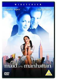 Maid In Manhattan (DVD, 2003)