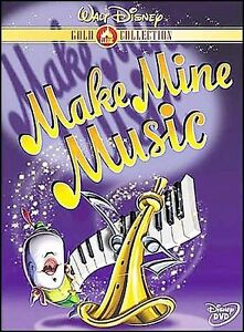 Make Mine Music (DVD, 2000, Gold Collect...