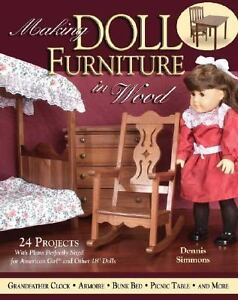 Making American Girl Doll Furniture Wooden