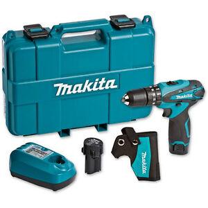 Makita-Akku-Schlagbohrschrauber-HP330DWE-10-8-V-1-3-Ah-mit-2x-Akku-im-Koffer