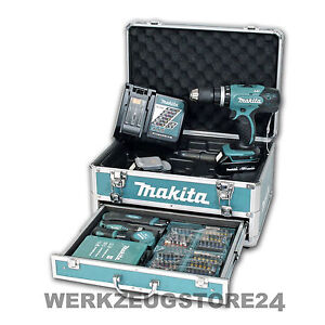 makita dhp453ryx2 akkuschlagschrauber set 18v dhp453 akkuschrauber ehem bhp453 ebay. Black Bedroom Furniture Sets. Home Design Ideas