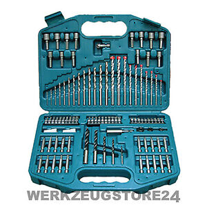 makita p 30835 bohrer bit set 99 tlg bohrersatz bitsatz f r akkuschrauber ebay. Black Bedroom Furniture Sets. Home Design Ideas