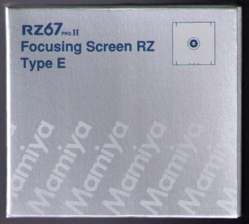 Mamiya RZ / RZ PRO II / PRO IID FOCUSING SCREEN TYPE E in Cameras & Photo, Manuals & Guides | eBay