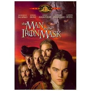 The Man in the Iron Mask (DVD, 1998, Sta...