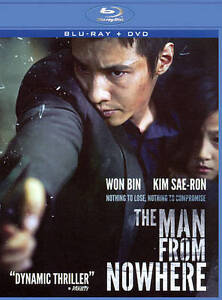 The Man from Nowhere (Blu-ray/DVD, 2012,...