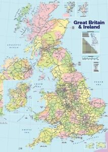 Map-of-the-British-Isles-Brand-New-Educational-Poster