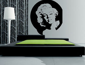Marilyn Monroe Wall Decor Art Vinyl Decal Sticker Ebay