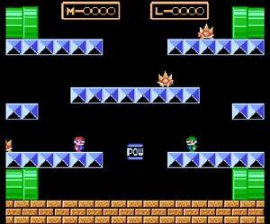 Mario Bros. (Nintendo NES, 1986)