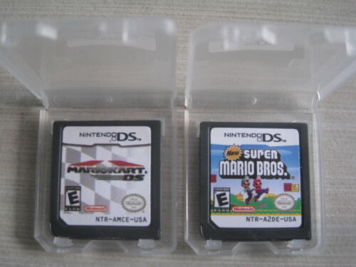 Mario Kart DS and New Super Mario Bros for nds Lite ndsi ndsll ndsxl 3DS in Video Games & Consoles, Wholesale Lots, Games | eBay