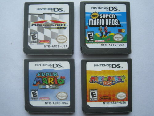 Mario Kart and Super Mario Bros and Mario Party and Super Mario 64 for ndsi 3DS in Video Games & Consoles, Wholesale Lots, Games | eBay