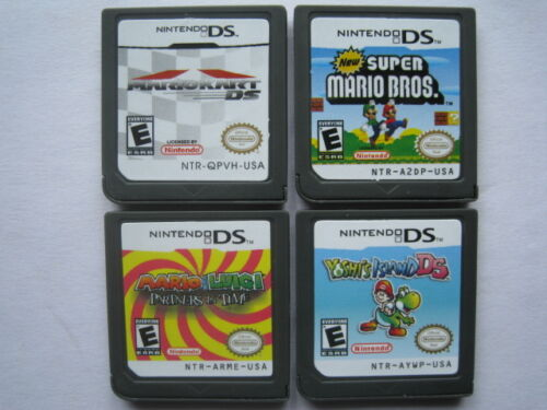 Mario Kart and Super Mario Bros and Yoshis_Island and Mario & Luigi for ndsi 3DS in Toys & Hobbies, Wholesale Lots, Games | eBay