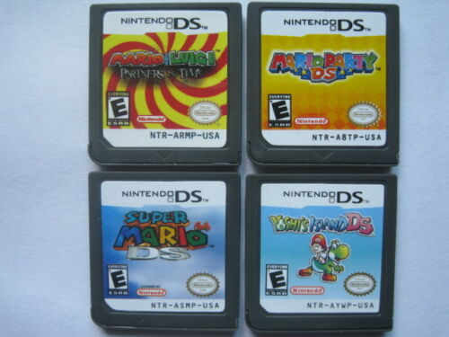 Mario Party and Super Mario 64 and Yoshis Island and Mario & Luigi for ndsi 3DS in Video Games & Consoles, Wholesale Lots, Games | eBay