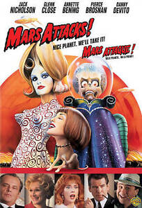 Mars Attacks! (DVD, 2008, Canadian)