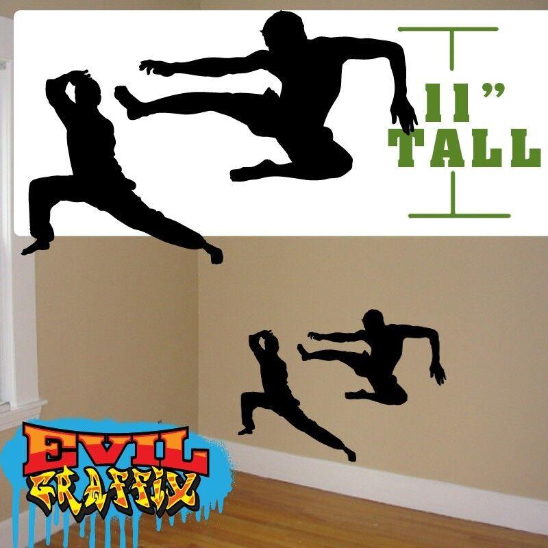 Martial Arts Graphics Wall Decor Martial Arts Decals Wall Martial Arts Decal