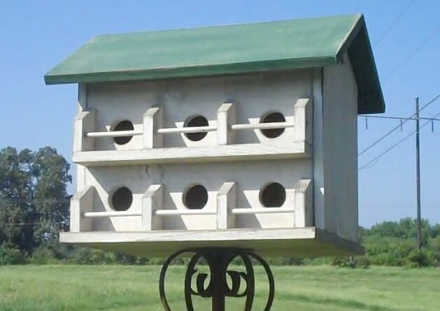 Purple Martin Bird House Plans - Woodworking Projects