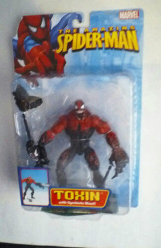 Marvel Amazing Spiderman Toxin Action Figure in Toys & Hobbies, Action Figures, Comic Book Heroes | eBay