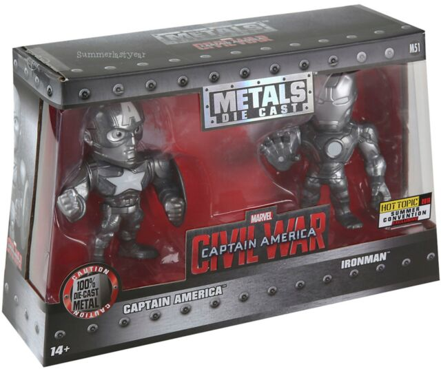 Marvel Captain America Civil War Metals 2 Pack 2016 Summer Convention Exclusive