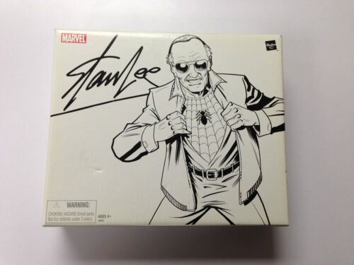 Marvel Legends Stan Lee Figure SDCC Comic Con 2007 Exclusive Spider-Man NIB in Toys & Hobbies, Action Figures, Comic Book Heroes | eBay