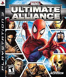 Marvel: Ultimate Alliance  (Sony Playsta...