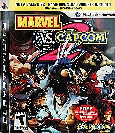 Marvel vs. Capcom 2  (Sony Playstation 3...