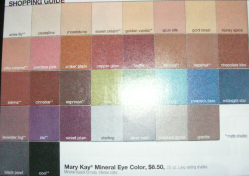 Mary Kay Mineral Eye Color***YOU CHOOSE COLOR*** NIB in Health & Beauty, Other | eBay