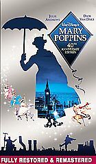 Mary Poppins (VHS, 2004, 40th Anniversar...