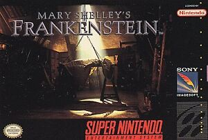 Mary Shelley's Frankenstein  (Super NES,...
