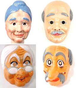 maske alte leute masken fuer erwachsene aus hartplastik. Black Bedroom Furniture Sets. Home Design Ideas
