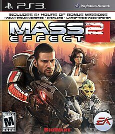 Mass Effect 2  (Sony Playstation 3, 2011...