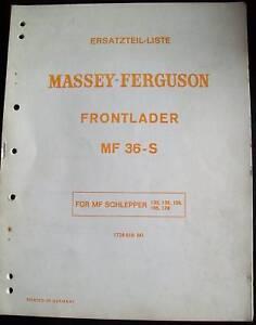 Massey-Ferguson-Schlepper-Frontlader-36S-ET-Liste